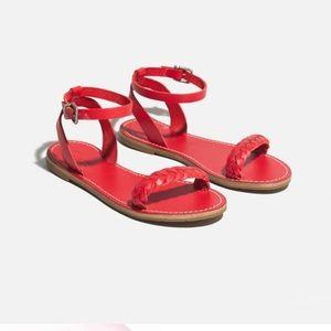 Madewell Sightseer Braided Sandals 👡